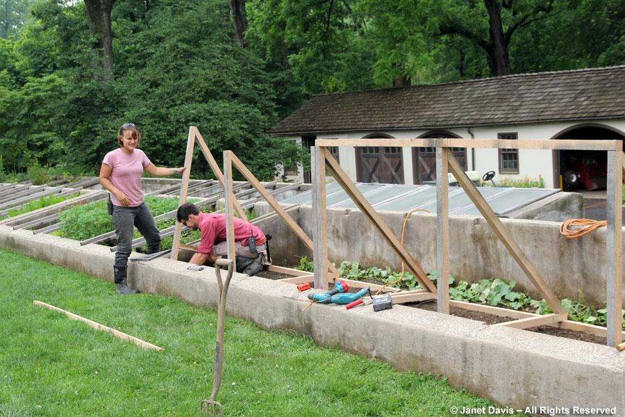 14-Emma & David building a Canteloupe Tree