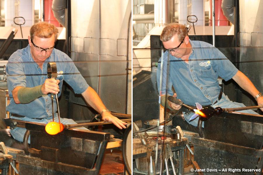Glassblower- Corning Museum