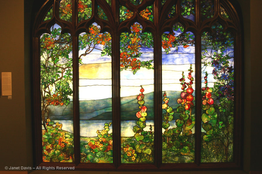 Tiffany window - Corning Nuseum of Glass