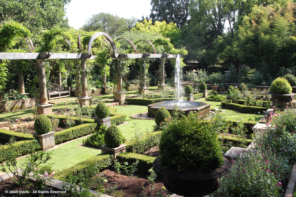 A garden jewel in johannesburg janet davis explores colour for Garden design johannesburg