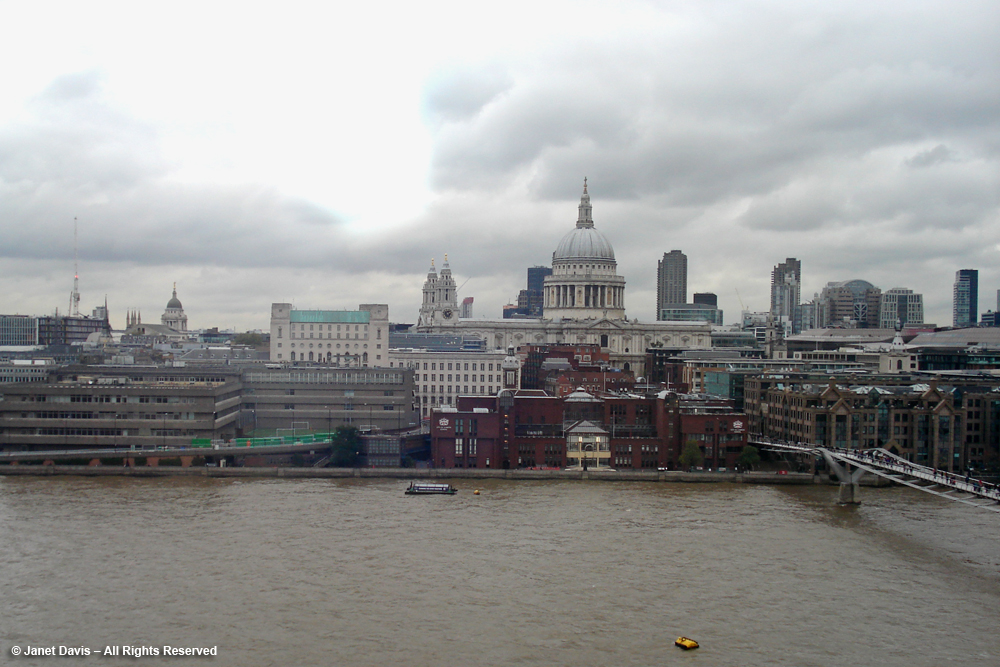 St. Paul's Cathedral from Tate Modern
