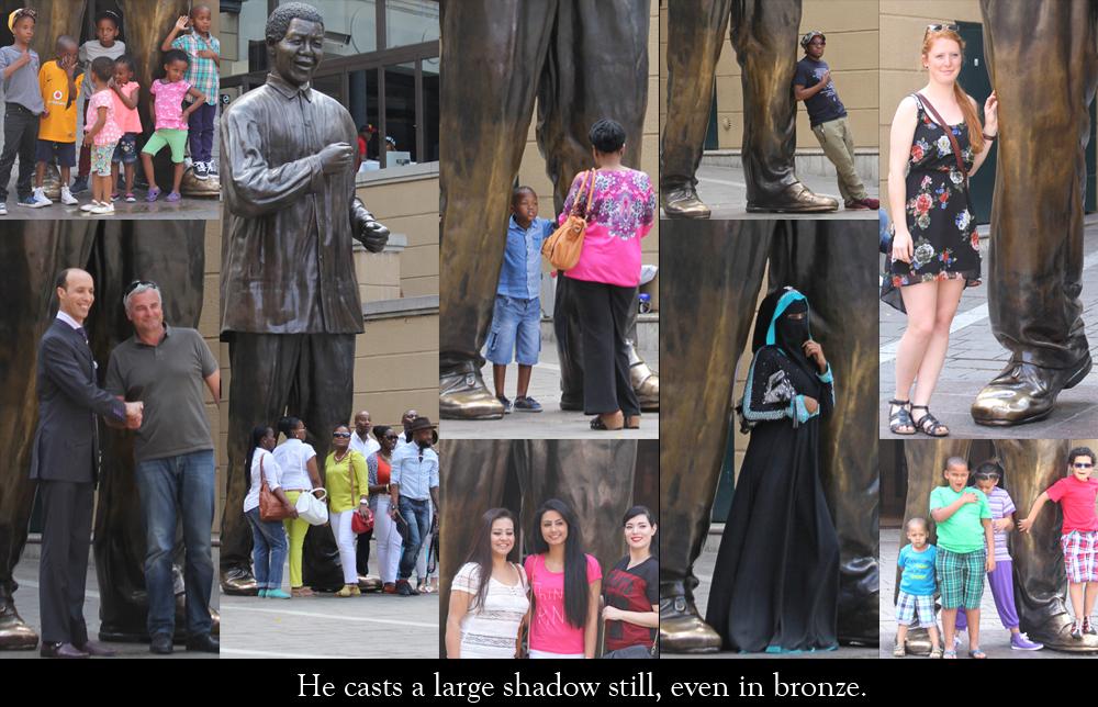 Mandelas legs