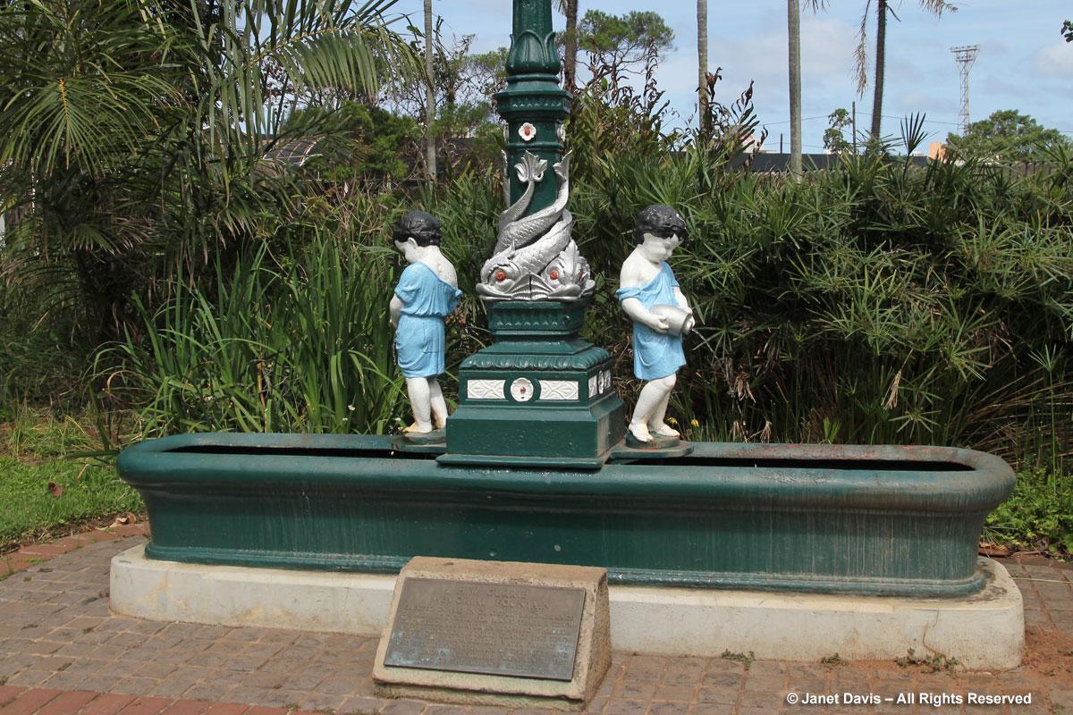 Currie Memorial Fountain-Durban Botanic