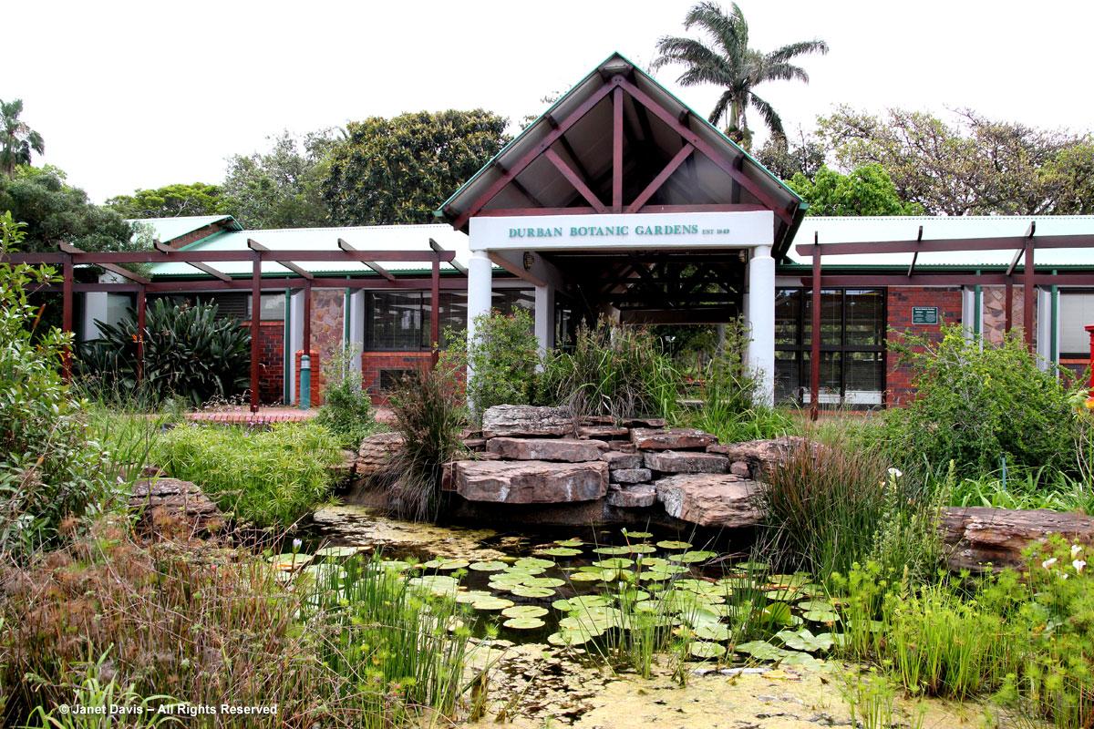 Durban Botanic Gardens-Entrance