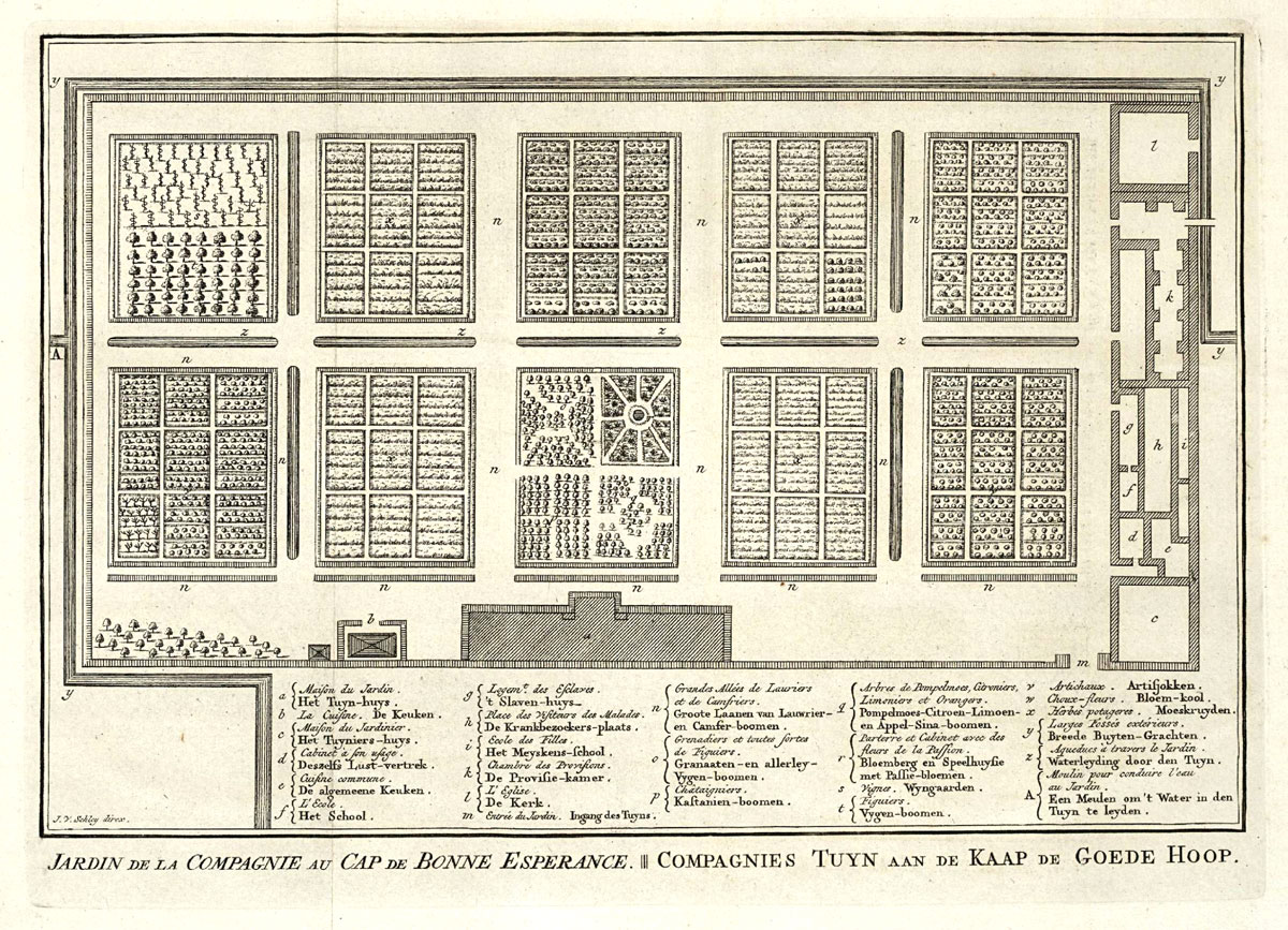 02-VOC-Dutch East India Company Garden Plan