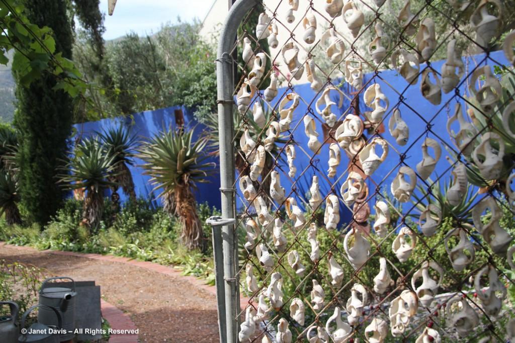 Shell Gate Henk Scholtz Garden Janet Davis Explores Colour