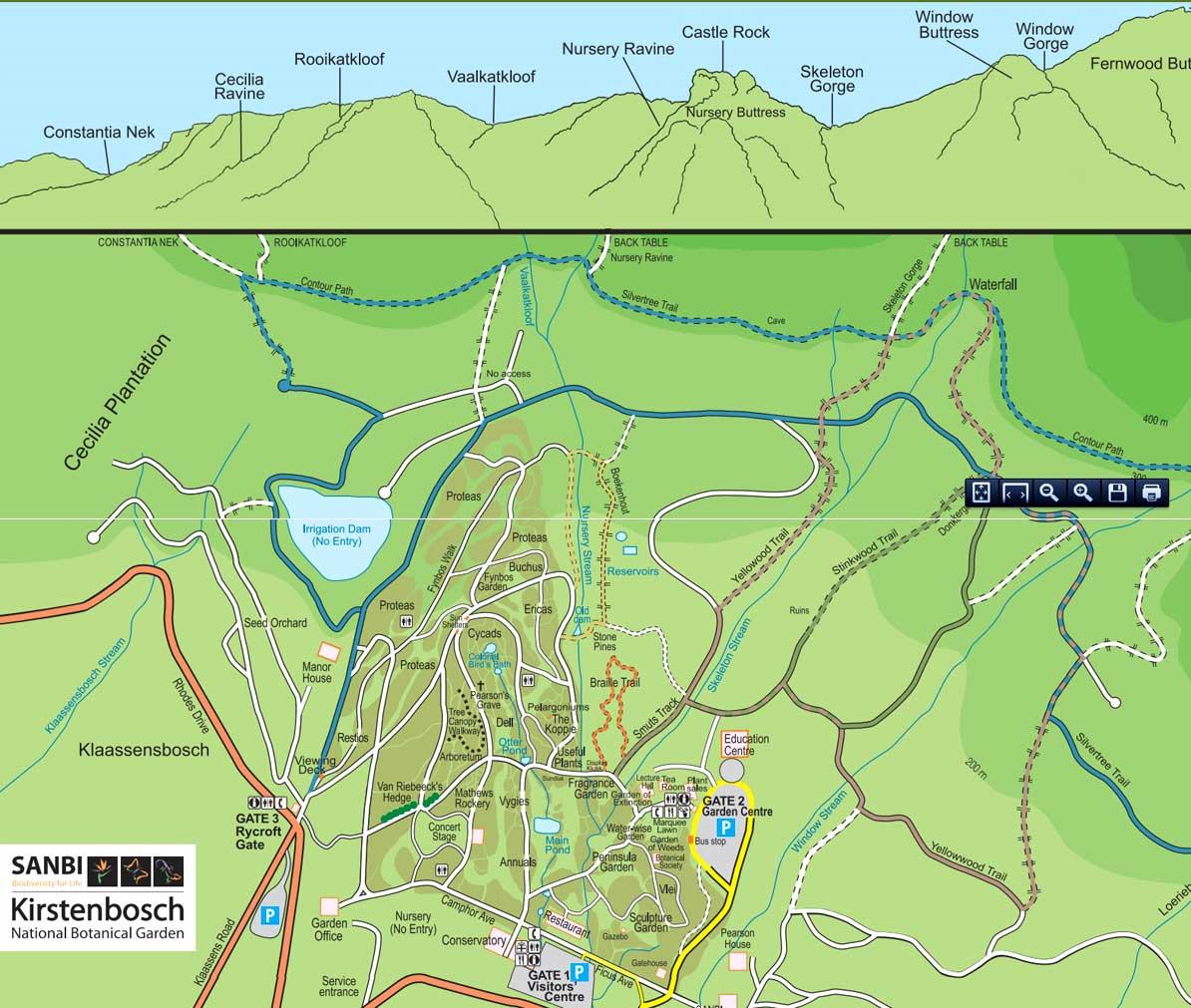 01-Map-Kirstenbosch
