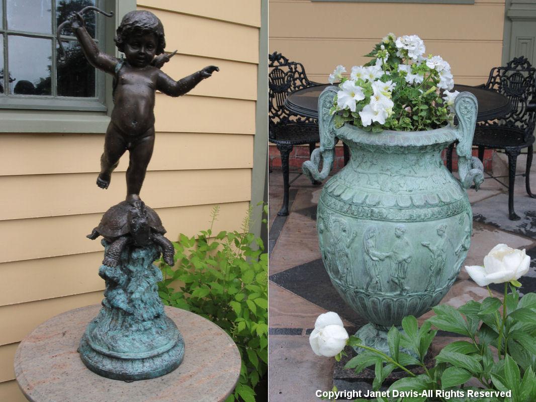 Cherub & Grecian Urn