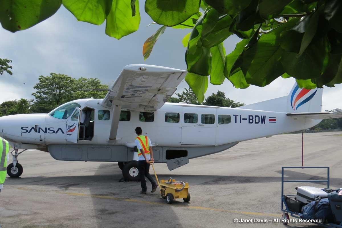 Sansa Cessna - Puerto Jimenez