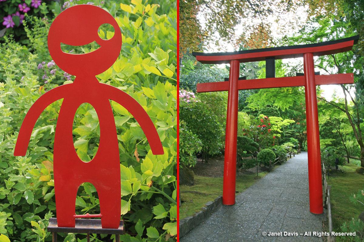 Red Garden Art & Tori Gate