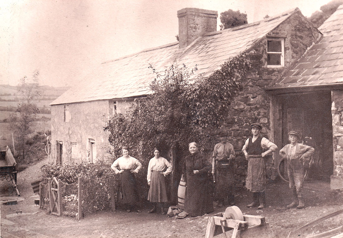 Campbell Family House & Blacksmith Shop- Glen Corner-County Down