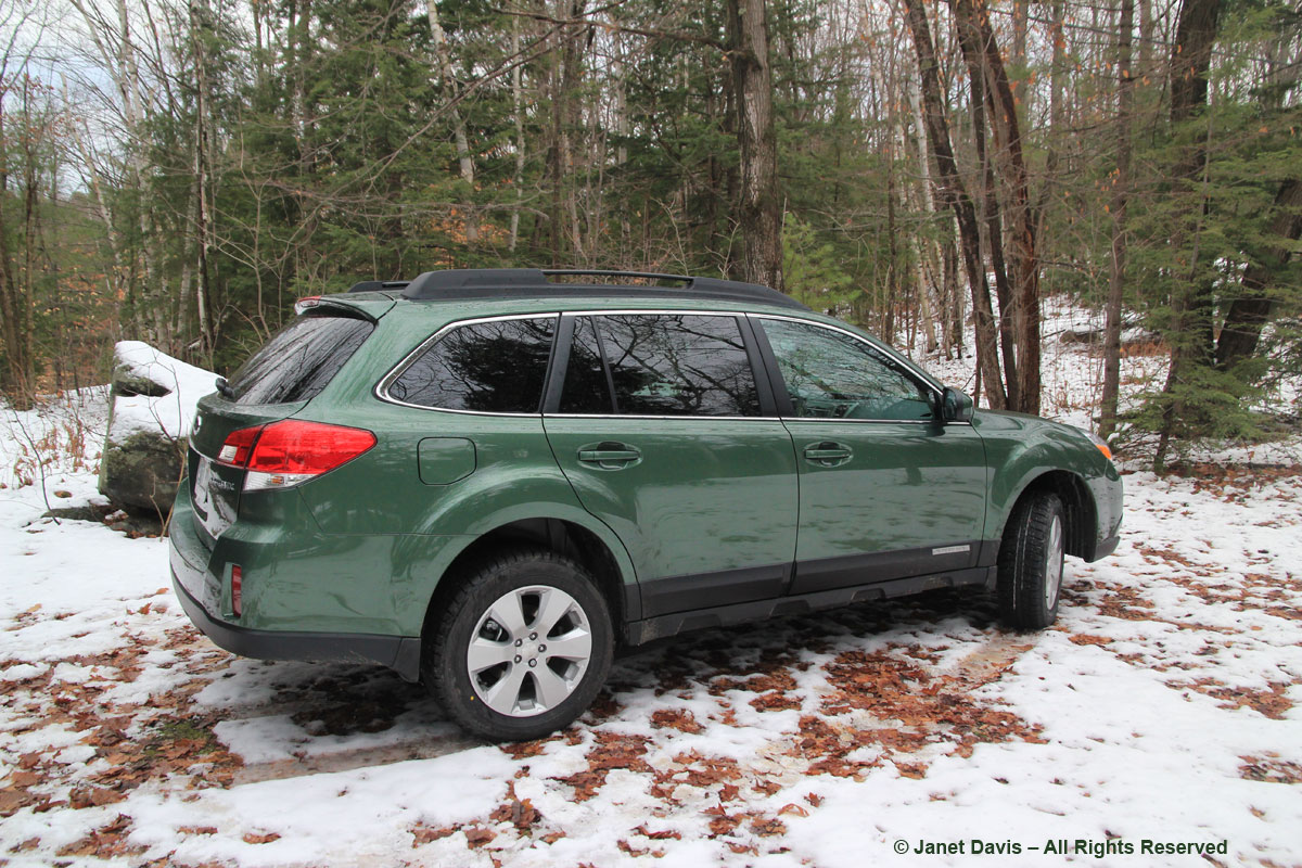 My Green Subaru Outback