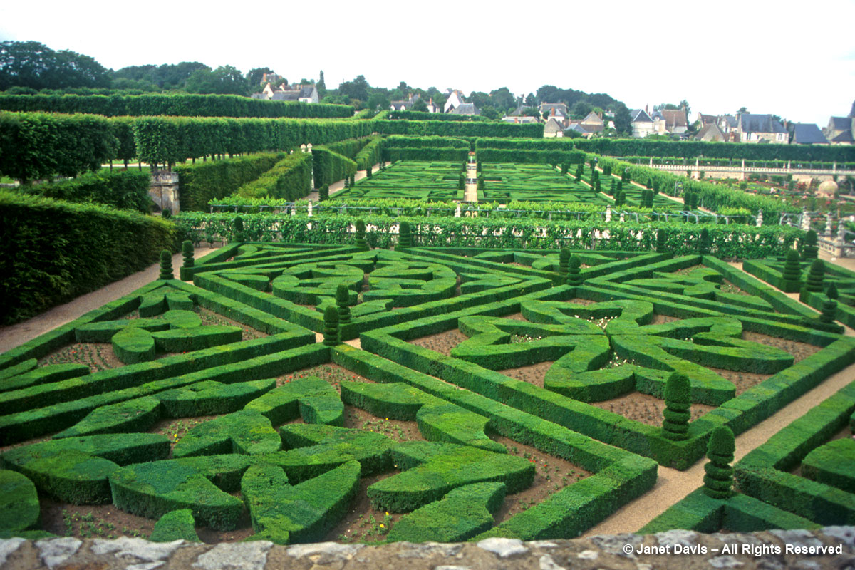 Villandry-Second Salon-Ornamental Garden