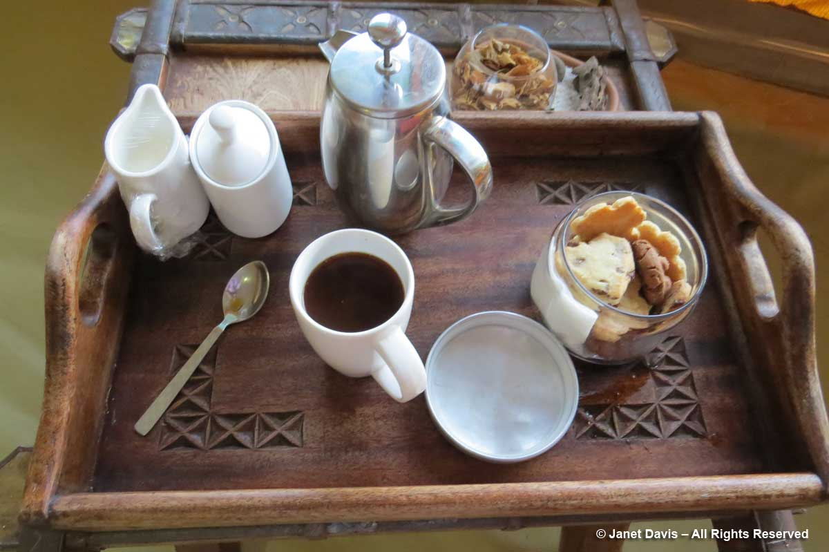 Wake-up tray-Kicheche-Laikipia