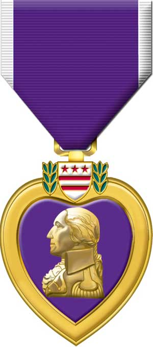 7-Miliary Purple Heart