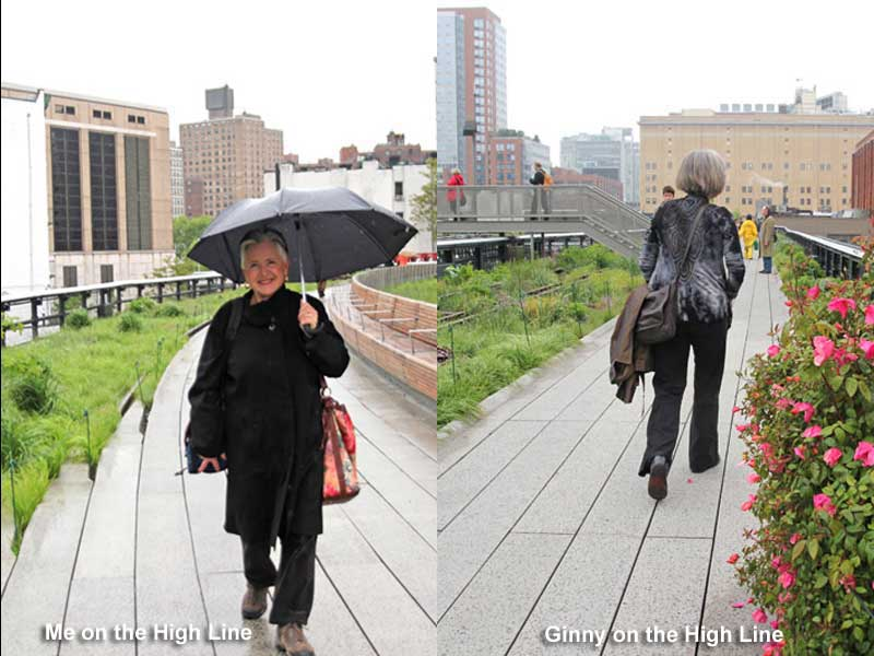 Ginny & Janet-2012-High Line