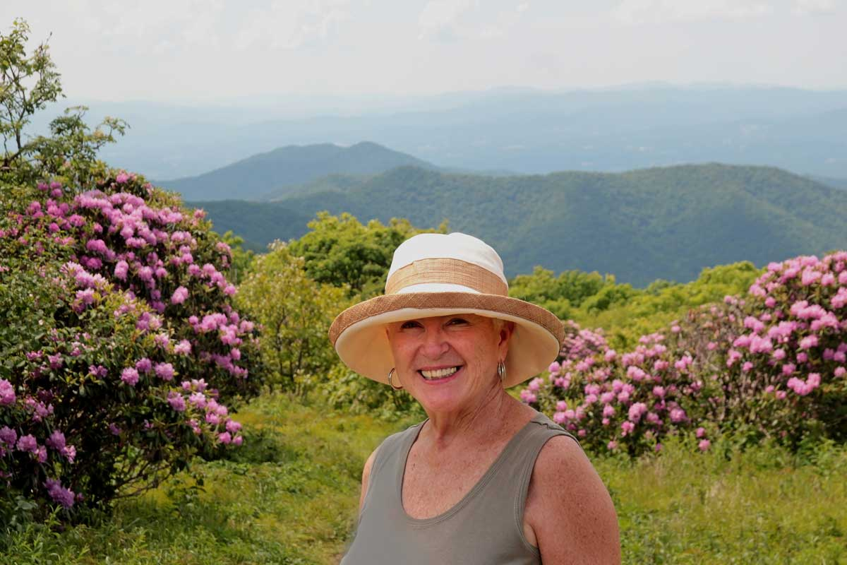 Janet Davis-Craggy Gardens-Blue Ridge Mountains