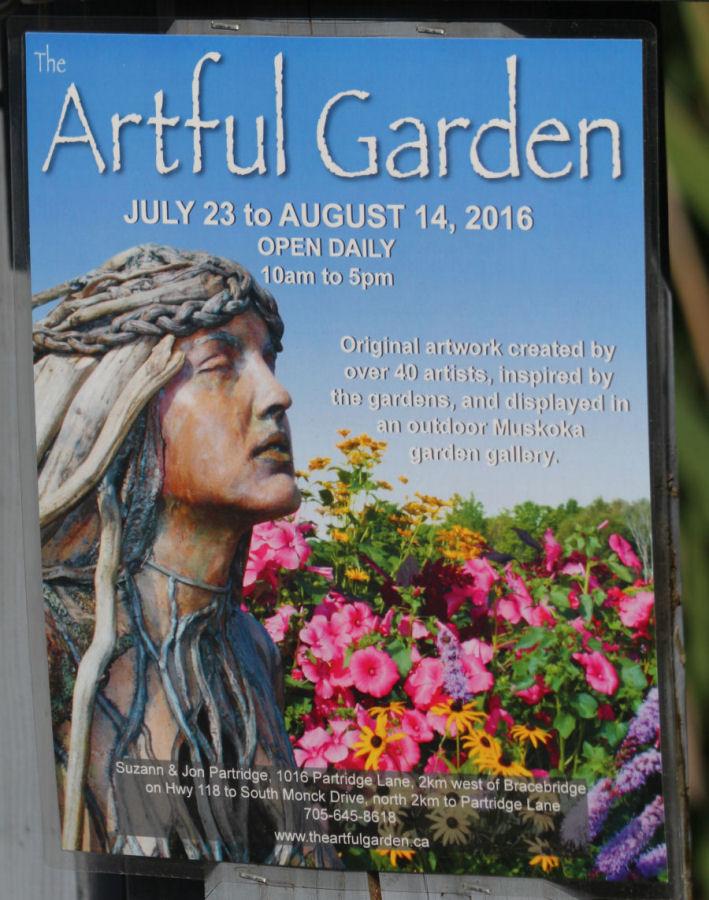 Artful Garden-Partridge-Bracebridge