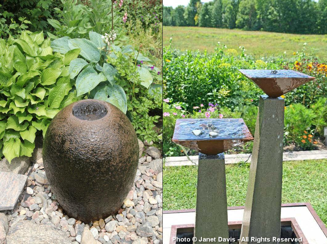Artful Garden-Partridge Fountains-