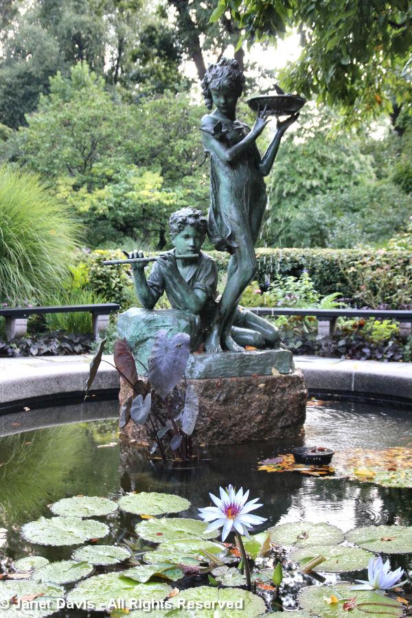 Conservatory Garden-Burnett Fountain-Bessie Potter Vonnoh