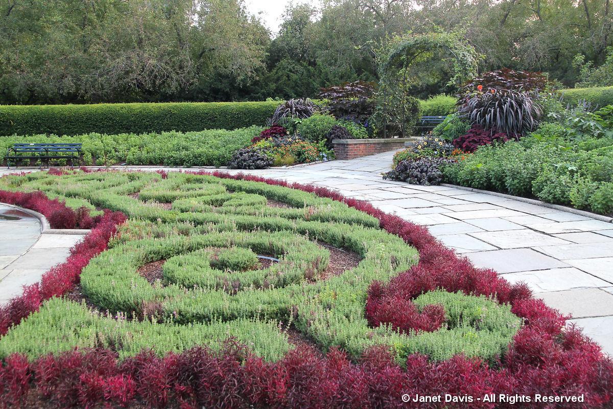 French Garden Planting-Conservatory Garden