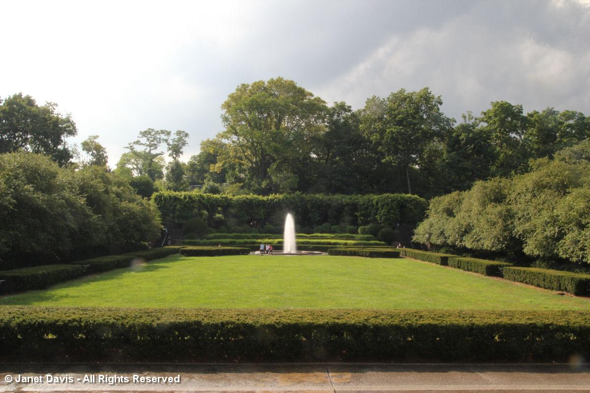 Italianate Garden Conservatory Garden New York