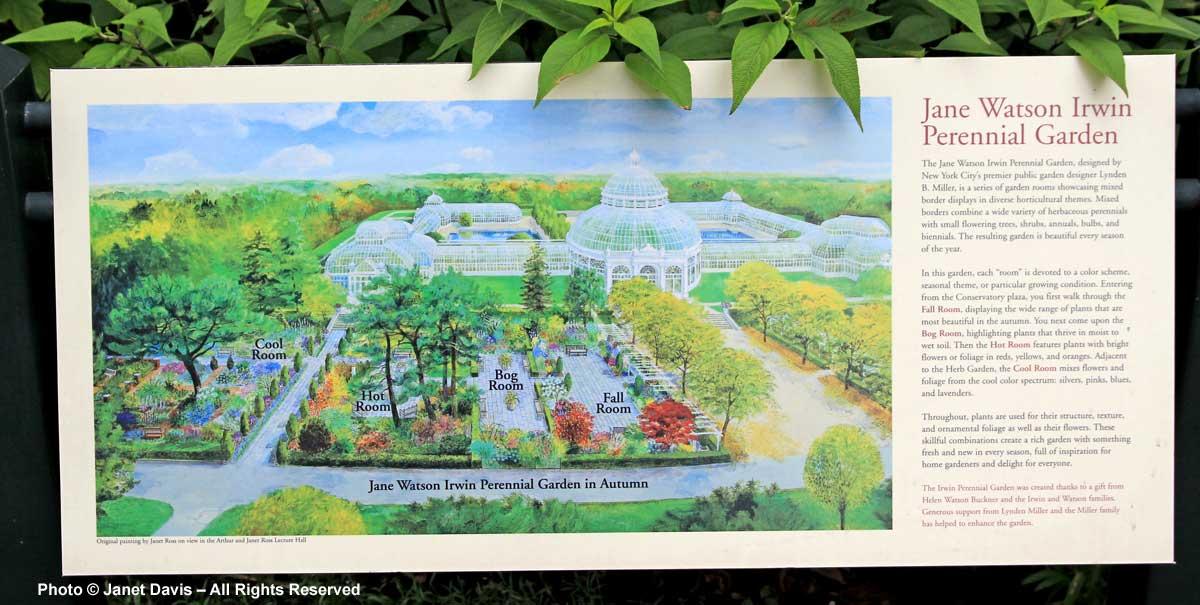 NYBG-Jane Watson Irwin Perennial Garden-Sign