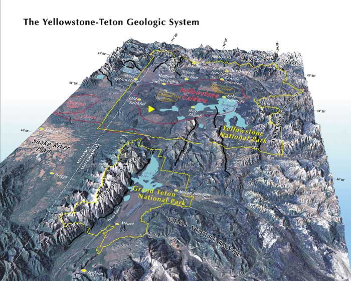 Smith, R. B. and L. Siegel, 2000, Windows Into the Earth: The Geology of Yellowstone And Grand Teton Parks, Oxford University Press, 247 pp.