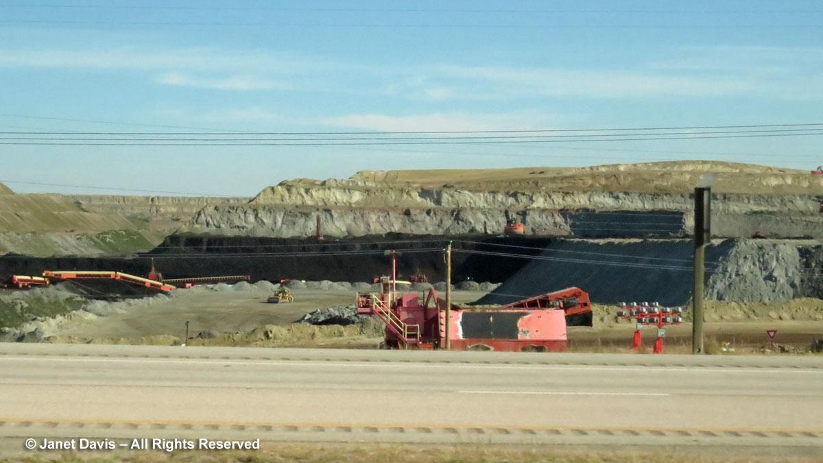Coal mine-Wyoming