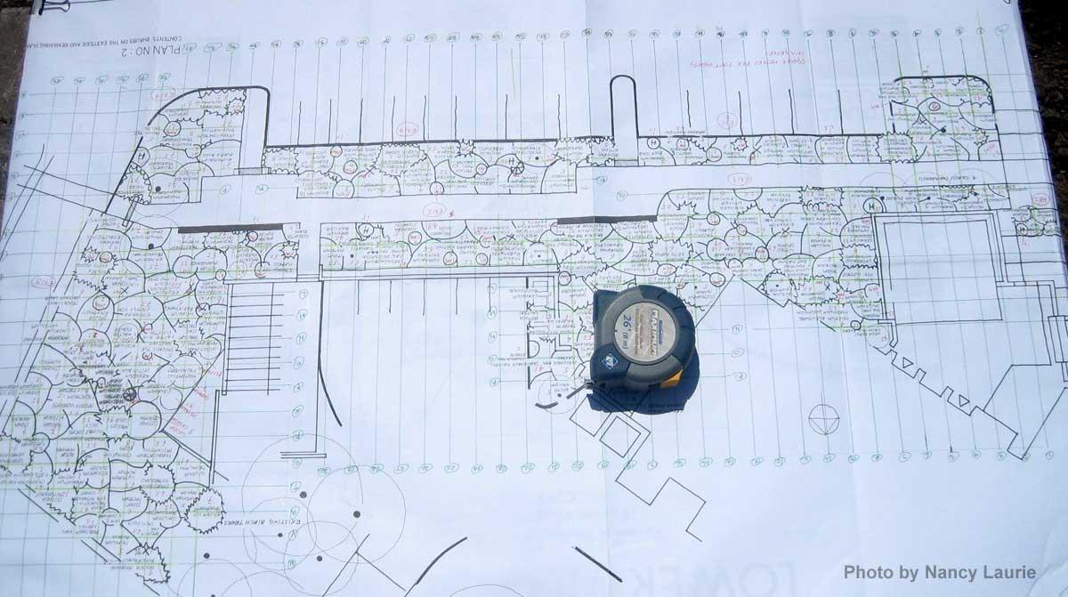 Construction-Toronto Botanical Garden Entry Border Plan