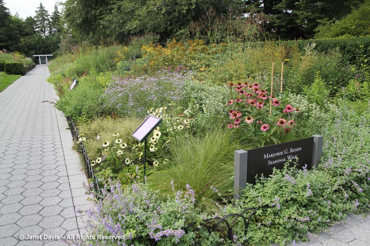 Marjorie j rosen walk new york botanical garden piet for Botanical garden design