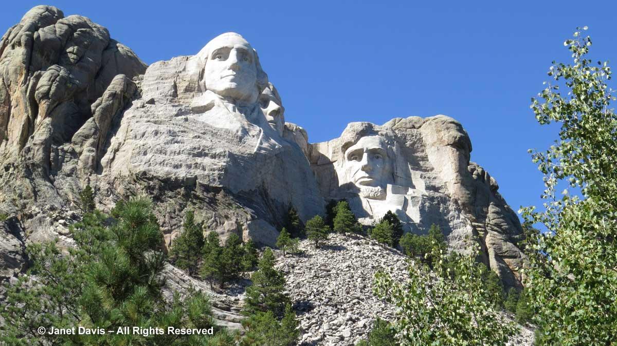 Mount Rushmore Janet Davis Explores Colour