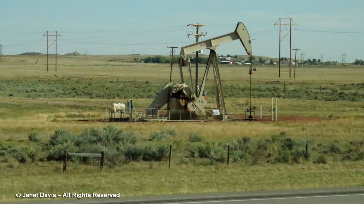 Oil rig-Wyoming