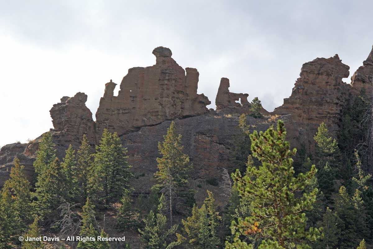 Rock Formations-Shoshone Valley