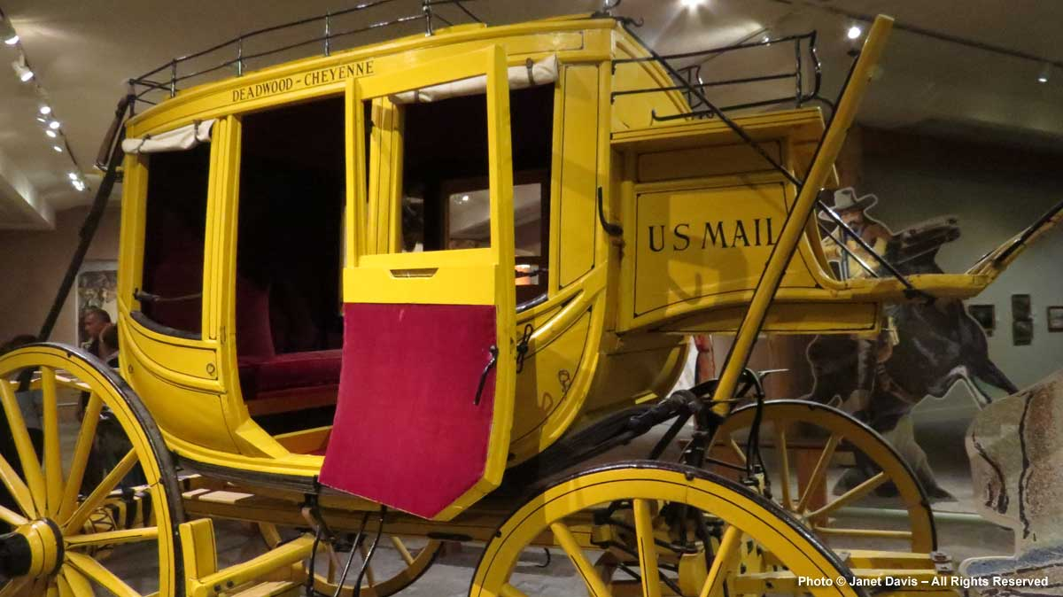 US Mail Deadwood Coach-Buffalo Bill Center of the West