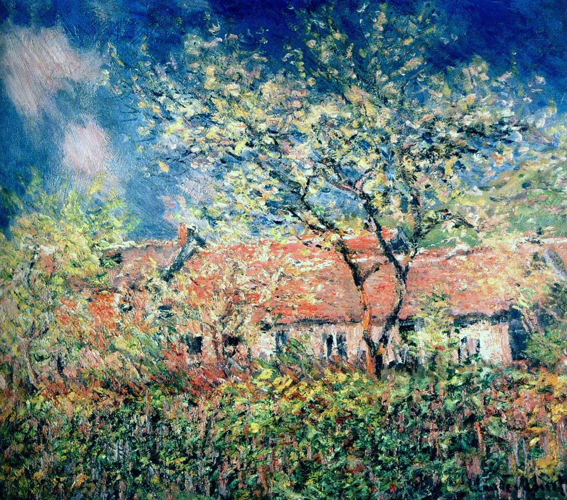 Claude Monet - Springtime at Giverny-1886