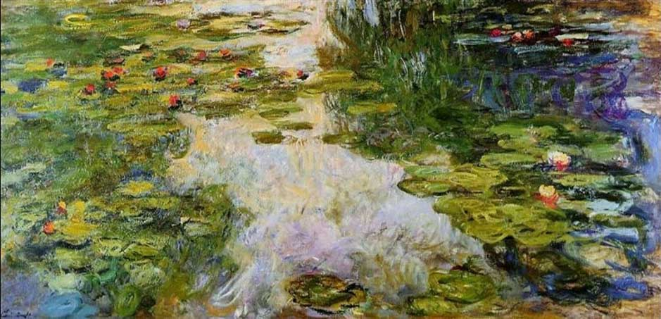 Claude-Monet-Waterlilies-1917