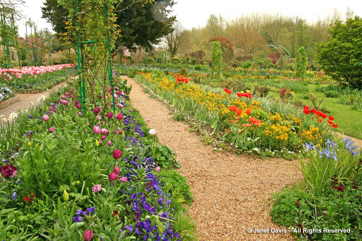 Giverny-Monet's Garden-Clos Normand-colour beds-spring