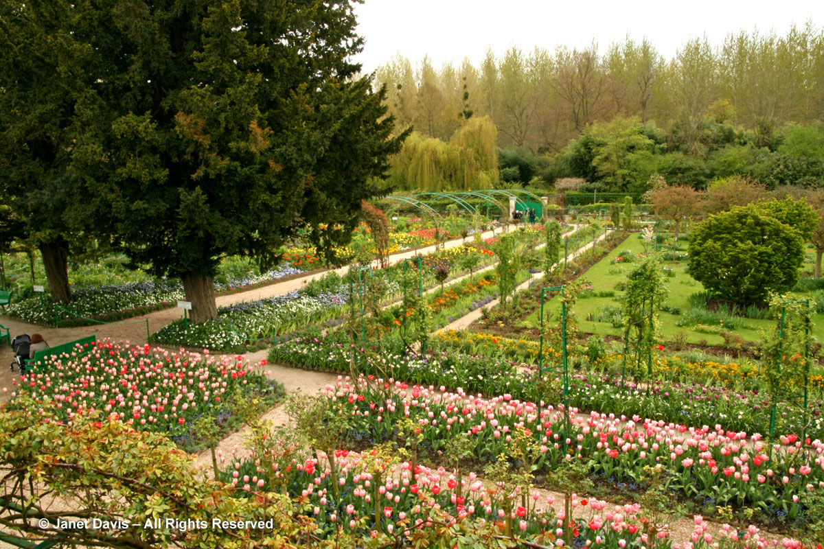 Giverny-Monet's Garden-Clos Normand from House