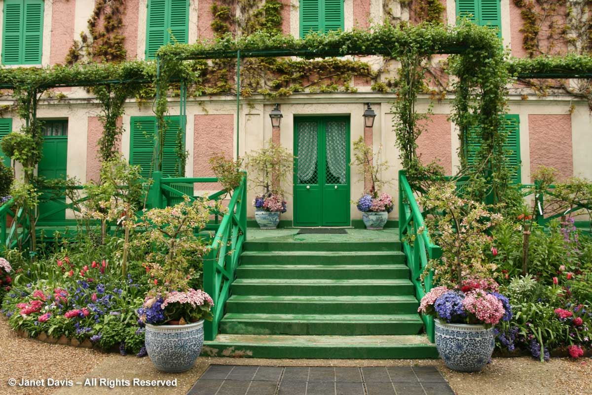 Giverny-Monet's House-spring