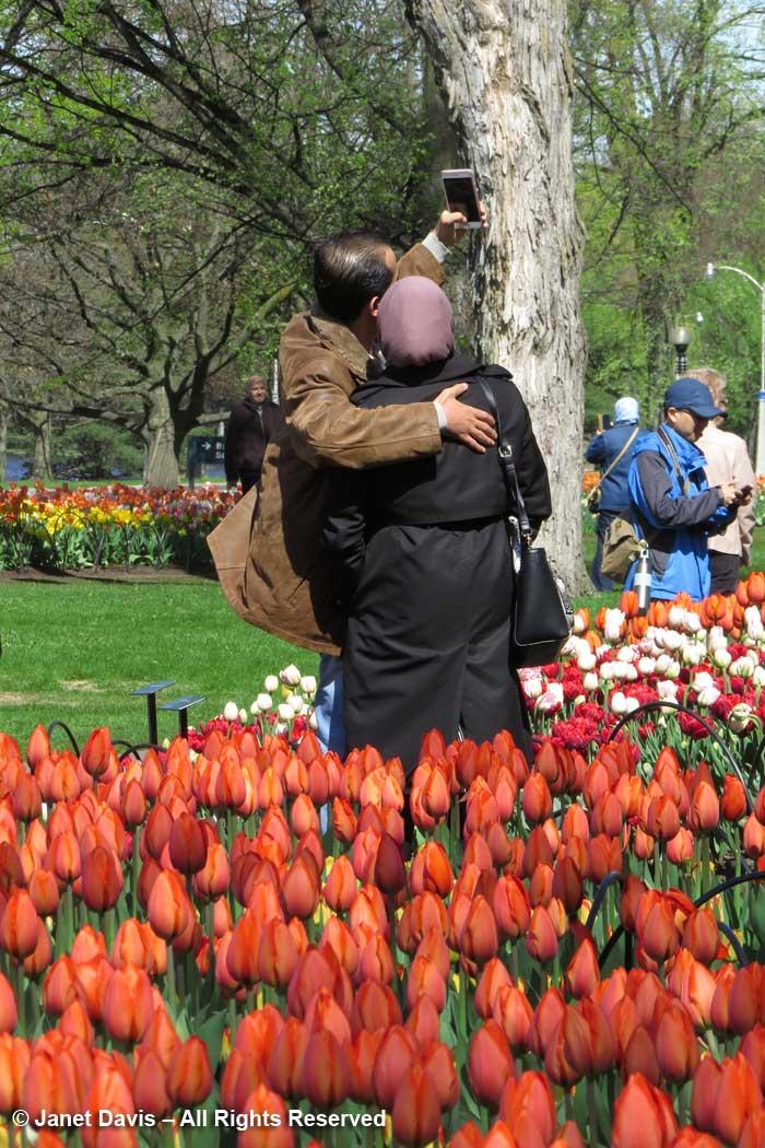 Selfies-Tulip Festival-Commissioners Park-Ottawa