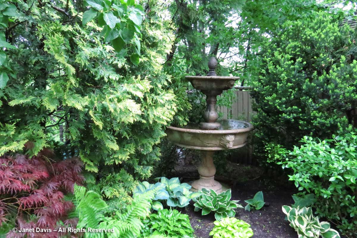 Toronto Botanical Garden-Through the Garden Gate-2017-Water Fountain