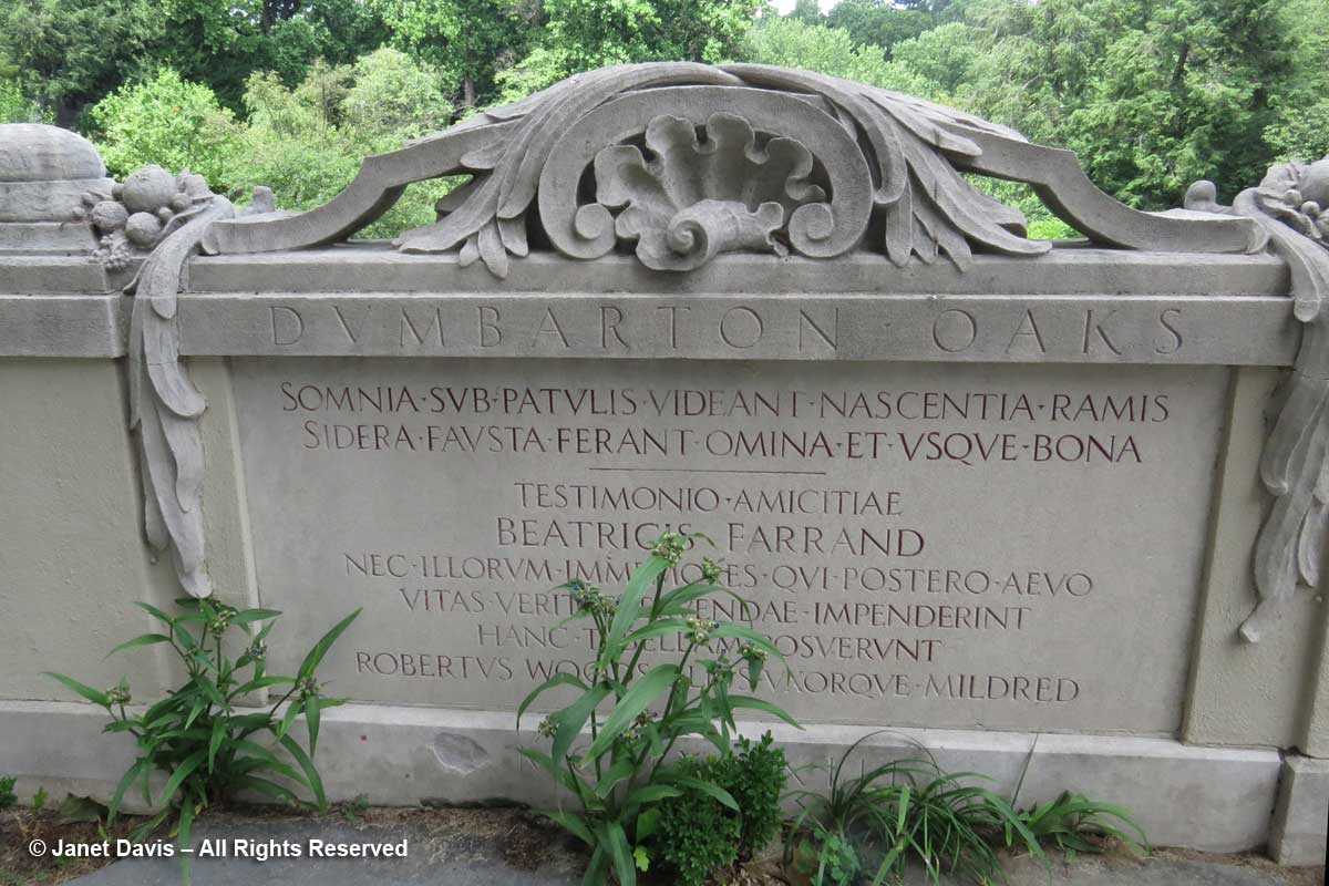 Dumbarton Oaks-Elegy to Beatrix Farrand-Green Terrace