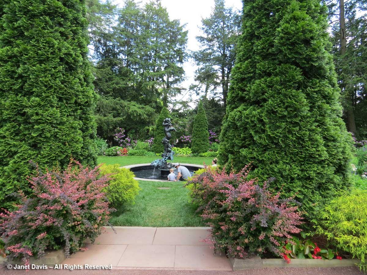 Prospect House Garden-Fountain-Princeton