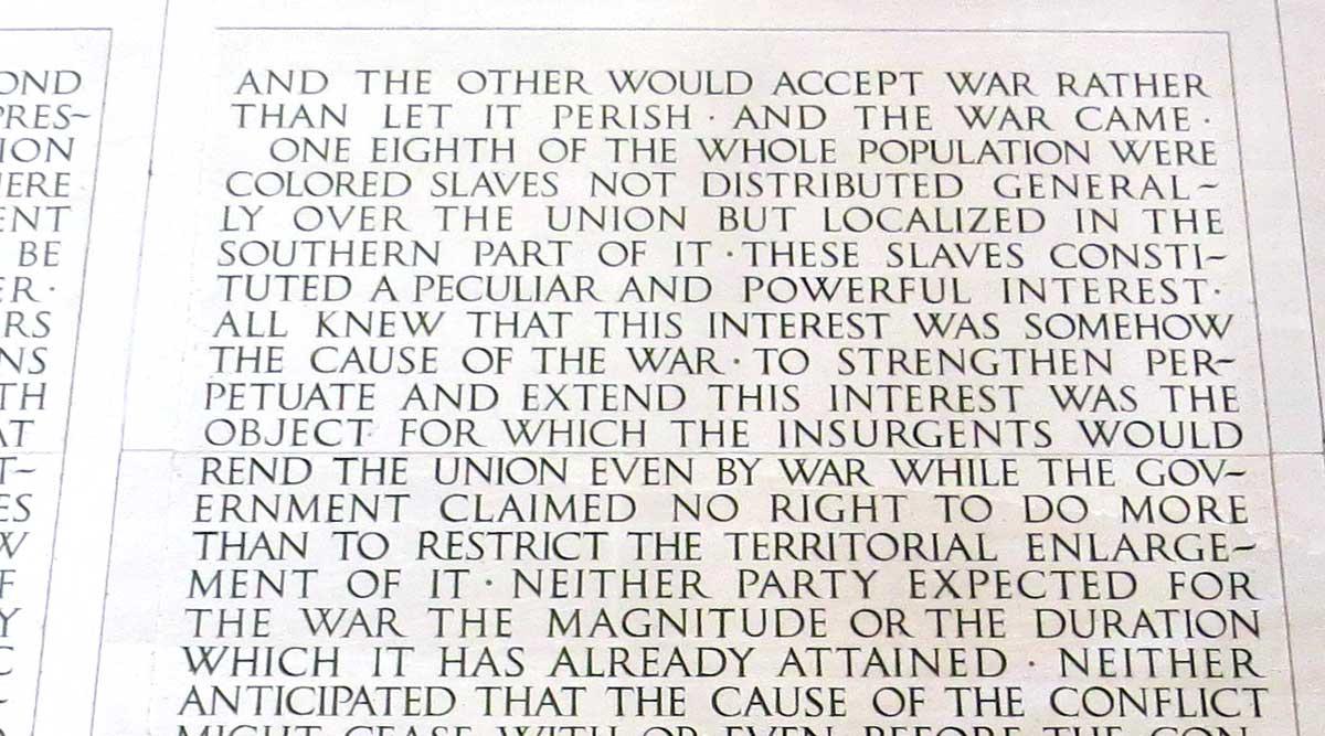 Abraham Lincoln-2nd Inaugural Address-Slavery