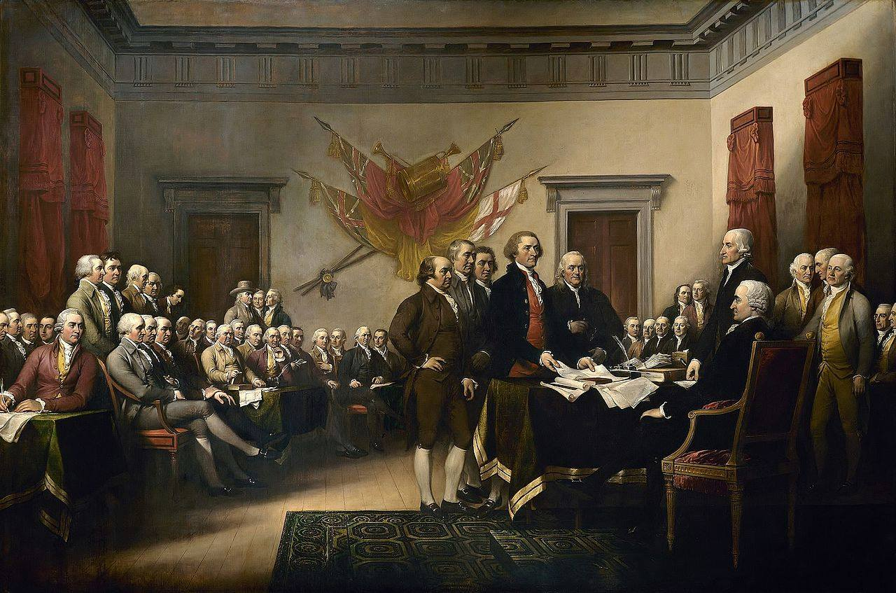 Declaration of Independence-John Trumbull-1818