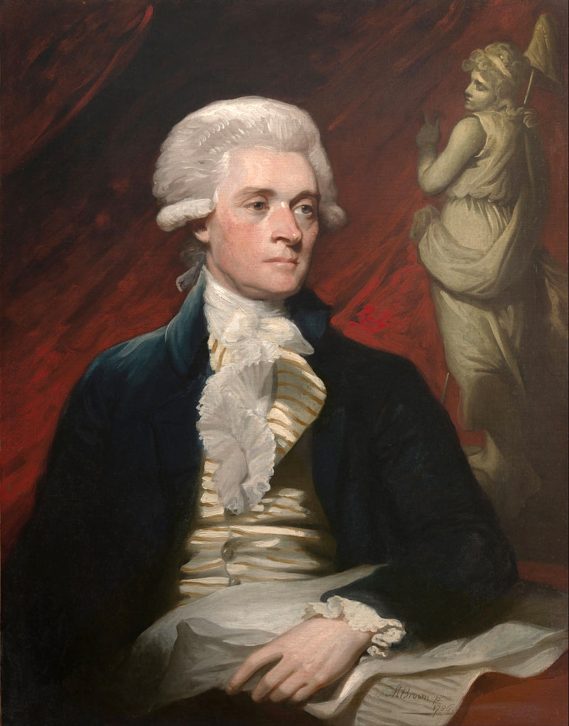 Mather Brown-Thomas Jefferson-1786