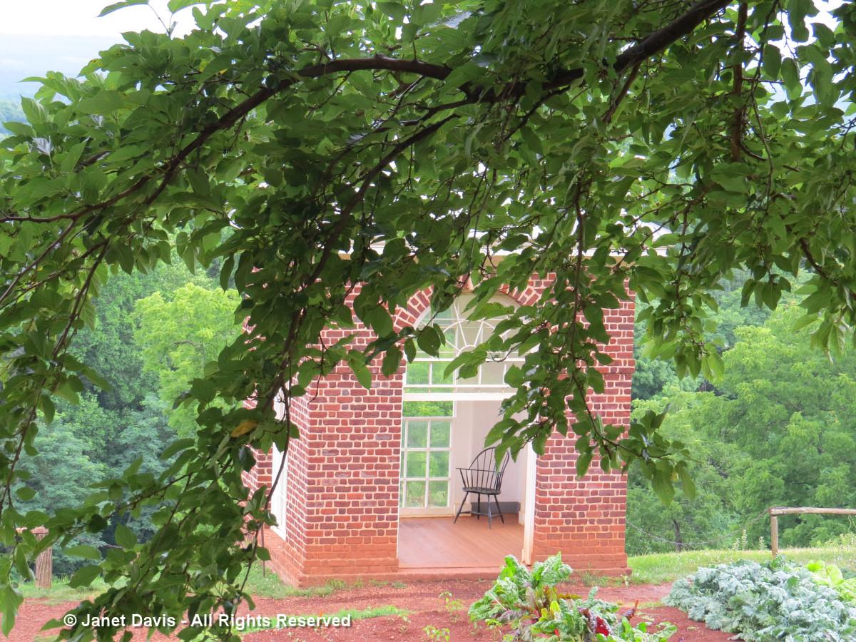 Mulberry & Garden Pavilion-Monticello