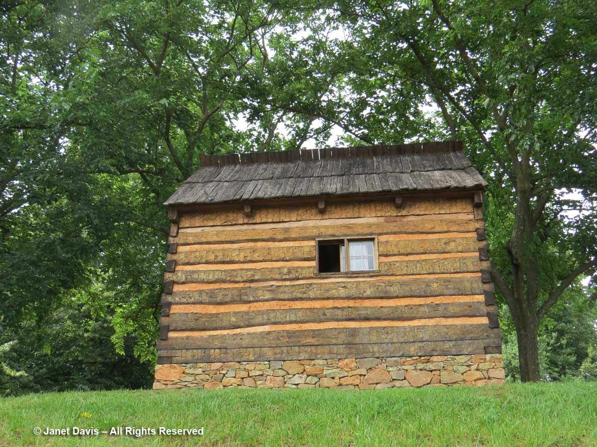 Mulberry Row-Slave House-Monticello