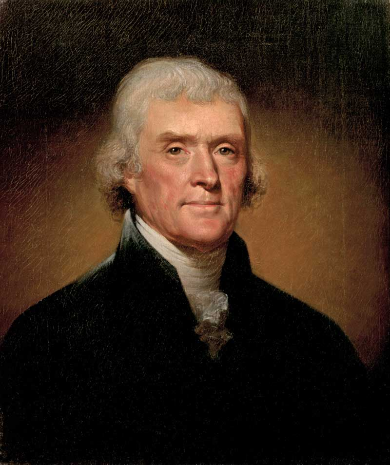 Thomas Jefferson-Rembrandt Peale